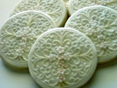 Cross Sugar Cookies  Weddings Christenings by CookieFashionista, $38.00