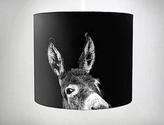 Art meets light! ESELPENDELLEUCHTE! - Hängelampen - von Halbeins - DaWanda