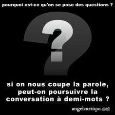 conversation longue durée …