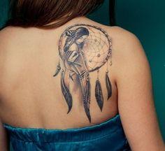 35 ideas tattoo ideas female dreamcatcher native american for 2019 Hip Tattoos Women, Tattoos For Women Small, Trendy Tattoos, Leg Tattoos, Body Art Tattoos, Sleeve Tattoos, Tattoos For Guys, Cool Tattoos, Tatoos