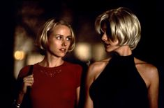 "Naomi Watts, Laura Harring in ""Mulholland Dr."" 2001, directed by David Lynch."