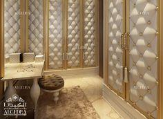 Dressing Room Ideas - Dressing Designs by Algedra Interior- mistress closet Classical Interior Design, Interior Design Dubai, Residential Interior Design, Bedroom Cupboard Designs, Teen Bedroom Designs, Bedroom Styles, Wardrobe Room, Wardrobe Design Bedroom, Modern Luxury Bedroom