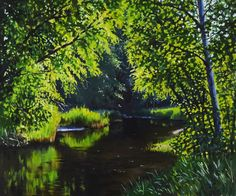 View: The sunny day in the forest | Artfinder