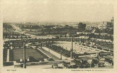 1925 - Jardins do Museu Paulista no Ipiranga.