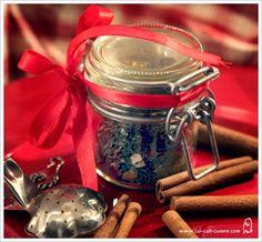 recette thé de noël DIY à offrir (ou pas!)