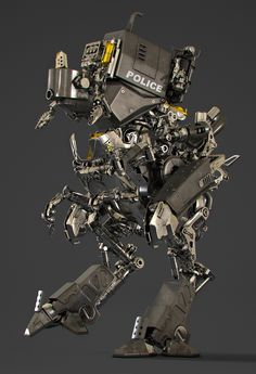 ArtStation - Robot, Ying-Te Lien