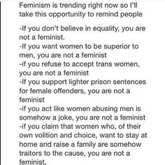 #feminist #feminism #myequalrights THIS EVERYTHING ABOUT THIS YESSSS