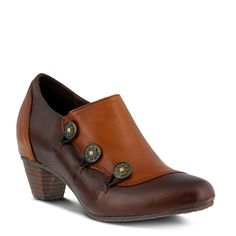 Spring Step Women's Greentea Ankle Boots (Dark Brown Leather) - 42.0 M