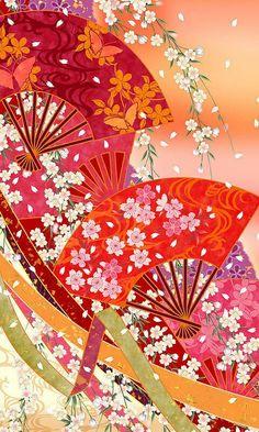 Japanese Paper, Japanese Fabric, Japanese Prints, Japanese Style, Japanese Textiles, Japanese Patterns, Japan Design, Oriental Wallpaper, Brand Design