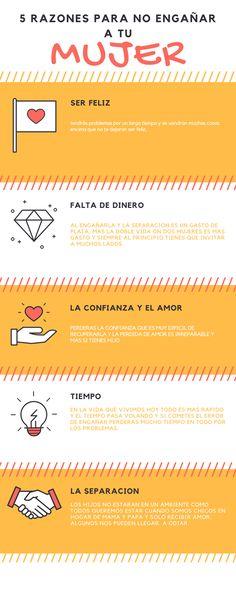 #infografia #razones #5 #mujer