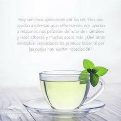 ¿Qué otras ventajas o sensaciones les produce beber té por las cuales hoy sientan apreciación? #agradecimiento #AbrahamHicks #apreciación @hilda0491