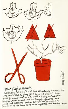 Wild Raspberries: Young Andy Warhol's Little-Known Vintage Cookbook | Brain Pickings