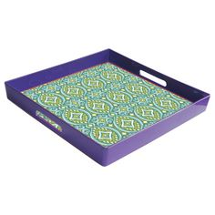 Found it at Wayfair - French Market Square Serving Tray http://www.wayfair.com/daily-sales/p/Gifts-for-Her-French-Market-Square-Serving-Tray~TVL2064~E19481.html?refid=SBP.rBAZEVS-pteAoBUTtqBGAtD6-DZwiE6htgMWblMlqwA