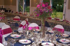 dress goblet glasses for a wedding   Cedars Banquet Room
