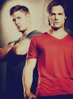 Jensen Ackles and Jared Padalecki. Yeah I like Supernatural...what of it?! :)