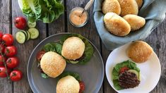 Hjemmelagde hamburgere Cantaloupe, Fruit, Food, Essen, Meals, Yemek, Eten