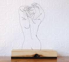 Resultado de imagen para arte con alambre