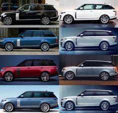 Suv Range Rover, Range Rover Black, Range Rover Sport, Range Rovers, Best Luxury Cars, Luxury Suv, Toyota Highlander Hybrid, Range Rover Supercharged, Mercedes Benz G Class