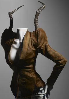 Ensemble, It's a Jungle Out There, autumn/winter 1997–98 | Alexander McQueen: Savage Beauty | The Metropolitan Museum of Art, New York