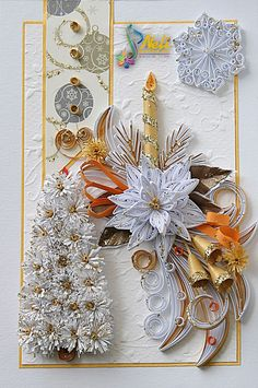 Neli is a talented quilling artist from Bulgaria. Her unique quilling cards bring joy to people around the world...                                                                                                                                                                                 More
