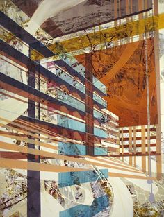 Ben Boothby   Architectural memories inspiration - I'm not sure of the method (digital?), but I like it.