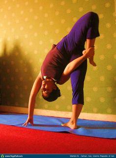 #Yoga Poses Around the World: Mahbin B. taken in tehran, Iran, Islamic Republic of Iran
