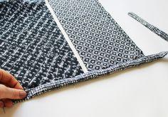 Plan B anna evers DIY wrap scarf short step 7