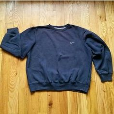 I just added this to my closet on Poshmark: Nike Athletic Dept. Navy Men's Classic Crew Neck. Price: $30 Size: L