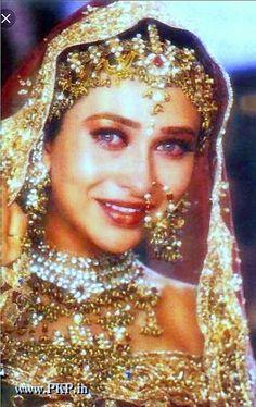 K in bridal dress Bollywood Makeup, Bollywood Outfits, Bollywood Wedding, Vintage Bollywood, Indian Bollywood Actress, Beautiful Bollywood Actress, Beautiful Indian Actress, Bollywood Fashion, Indian Actresses