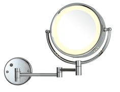 LED Wall Magnifying Plug in Mirror