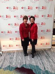 Go Red for Women Luncheon 2-2015 with my Sister Julie <3