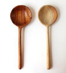 Brookfarm General STore - Jobillo Wood Serving Spoon