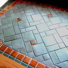 Stonelight Tile - San Jose, CA, United States. Custom Entry with S&S Tile reissue