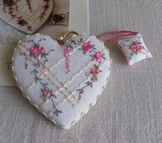 Thrilling Designing Your Own Cross Stitch Embroidery Patterns Ideas. Exhilarating Designing Your Own Cross Stitch Embroidery Patterns Ideas. Embroidery Hearts, Christmas Embroidery Patterns, Learn Embroidery, Silk Ribbon Embroidery, Cross Stitch Embroidery, Hand Embroidery, Cross Stitch Patterns, Cross Stitching, Fabric Hearts
