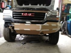 06 Front Bumper Build - Chevy and GMC Duramax Diesel Forum Cool Truck Accessories, Truck Accesories, Wrangler Accessories, Silverado Accessories, Off Road Bumpers, Jeep Bumpers, Custom Truck Bumpers, Custom Trucks, Aftermarket Headlights