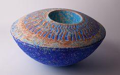 By David Allnatt    |   Allnatt Ceramics Homepage  Love the colours and the textured surface!