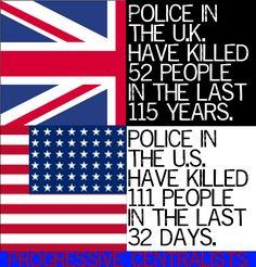Police Murders.. Unarmed+Shot = Murder... Unarmed+Shot in the Back=Murder... Handcuffed + beaten to death=Murder!!