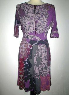 * * * ETRO Kleid lila geblümt, Gr.I 40/D 36 * * * Dresses With Sleeves, Long Sleeve, Ebay, Fashion, Lilac, Clothing Accessories, Gowns, Moda, Sleeve Dresses