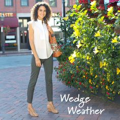 Wedges for every occasion, from a Spring or Summer wedding to a fun day of shopping. Wedge shoes and sandals can elevate any outfit without sacrificing comfort, so you can look cute and feel great, too!