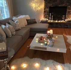 Romantic/comforting lighting