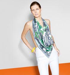 Malgosia Bela for Hermès Fall 2013 Catalog