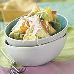 Fruit Salad with Honey-Yogurt Sauce Recipe | MyRecipes.com