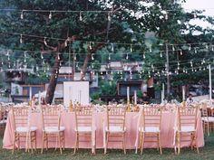 wedding reception ideas - http://ruffledblog.com/intimate-thailand-resort-wedding