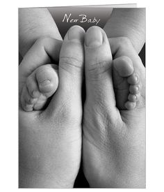 Personalised New Baby Congratulations card - Get all your personalised Congratulations cards from HelloTurtle Baby Congratulations Card, Holding Hands, New Baby Products, Product Launch, Ps, Cards, Babies, Babys, Baby