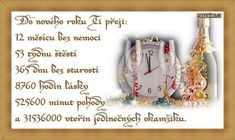 Gold Watch, Happy New Year, Clip Art, Humor, My Love, Cards, Pictures, Czech Republic, Android