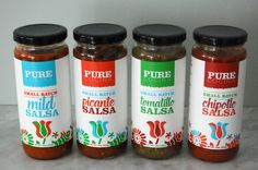 I am super excited to announce the launch of Pure Cocina Salsa! These salsas are the real deal! Organic, preservative free, small batch, and delicious! Mild Salsa, Super Excited, Product Launch, Organic, Pure Products, Recipes, Free, Gourmet, Rezepte