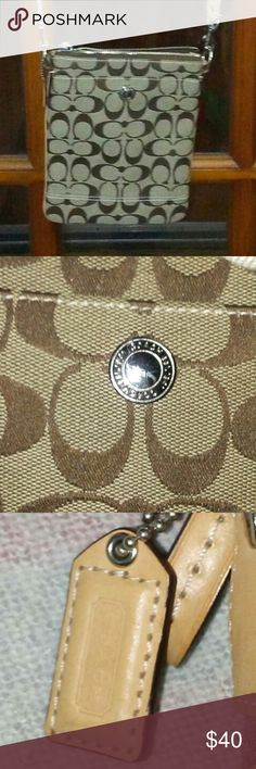 Brand new Coach crossbody New without tags. Smaller crossbody. No flaws Coach Bags Crossbody Bags