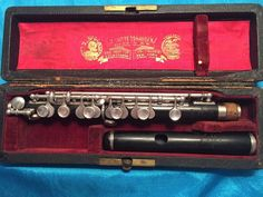 Vintage E. Rittershausen-Conical Piccolo-Made c.1920-Superb-Just Overhauled!  #Rittershausen