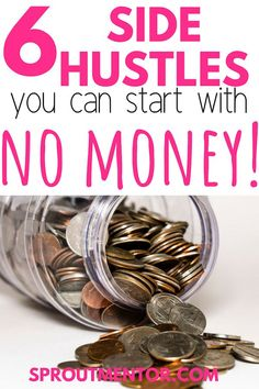To make extra cash working from home or completing tasks online? here are 6 of the best side hustles you can start with no money, experience and degree!