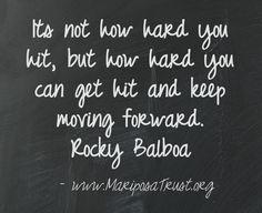 #Rocky #Quote #Determination